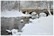 Winter Along Fleecydale - Carversville, PA