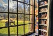 Henry Mercer's Library - Fonthill Castle - Doylestown, PA