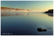 Morning Fog over Lake Galena - Peace Valley Park, PA