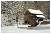 Winter's Day at Cuttalossa Mill - New Hope, PA