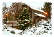 Peddler's Mill - Holiday Card