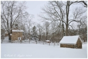Winter at Historic Thompson Neely Farm - Washington Crossing