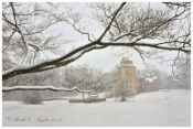 Winter Mist at Fonthill Castle - Note Card